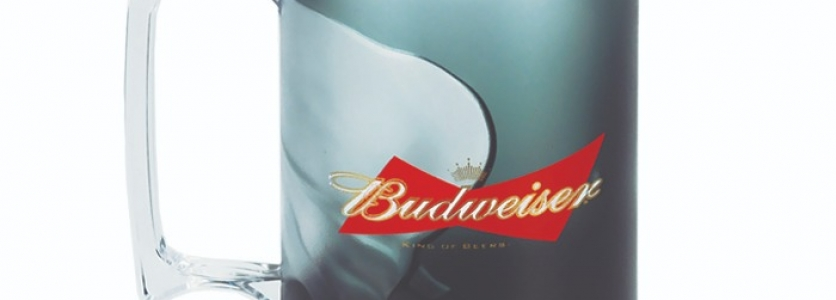 Caneca Gel 430ml Budweiser
